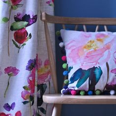Let the colour in with the range of plain and floral fabrics from bluebellgray. Feel good designs for curtain making and for upholstery. Modern Floral Design, Bluebellgray, Grey And Beige, Modern Prints, Linen Fabric, Red Roses, Color Blocking, Cool Designs, Upholstery