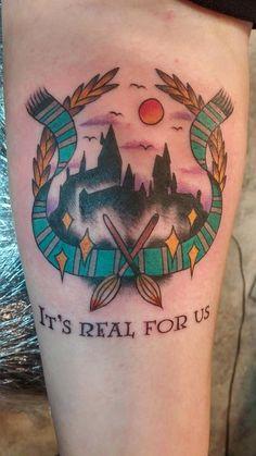 Harry Potter tattoo – 157 фотографий
