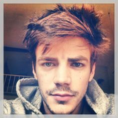 """Pin for Later: 25 Pictures of Grant Gustin That Give New Meaning to the Phrase """"Hot Flash"""""""