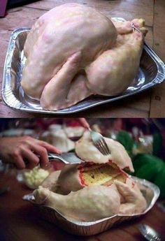 Turkey Cake - made by Sarah Hardy Cakes.....