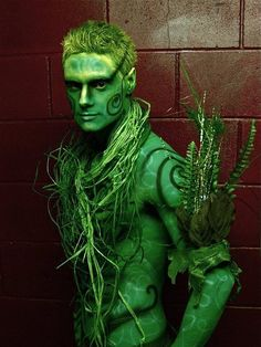 Green Man body paint for ritual. Fantasy Makeup, Fantasy Art, Body Painting Men, Costume Carnaval, Masquerade Costumes, Male Fairy, Image Nature, Green Bodies, Nature Spirits