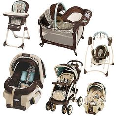 Graco - Carlisle Collection Bundle