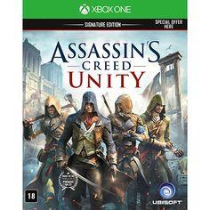 Submarino Game Assassin's Creed Unity: Signature Edition - XBOX ONE - R$89,90