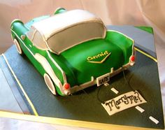 classic 1950's cars themed cakes - Google Search