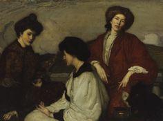 The Three Kimonos, George W Lambert