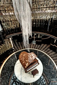 Robuchon au Dôme Restaurant at Grand Lisboa Hotel, Macau designed by Curiosity