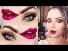 Makeup inspirada na Sandy - Maquiagem rápida e poderosa!