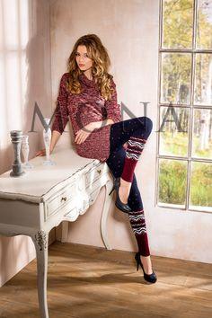 Getting Hipster Leggings: Nordic Pattern Legging ~ frauenfrisur.com Hipster Clothing Inspiration