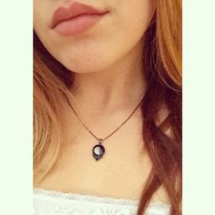 Check out this gorgeous shot that a fan shared on their Instagram! Beautiful Moonglow Necklace // Moonglow Jewelry