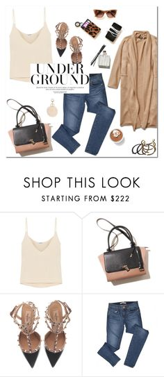 """Untitled #755"" by mjangirashvili ❤ liked on Polyvore featuring Totême, Valentino, J Brand and Garance Doré"