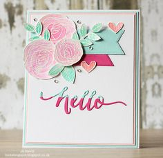 """Jo Nevill - SSS """"Best Mom Ever"""" stamps and Sweet Treats Cardstock. #SSSFAVE"""