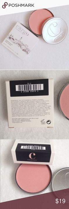 cargo cosmetics blush Brand new in box Cargo Cosmetics blush in beautiful peachy pink color The Big Easy. Full size (not sample).🎉Host Pick 1/26🎉 / cargo, cosmetics, makeup, make up, blush, blusher, rouge, pink, peach / Cargo Cosmetics Makeup Blush