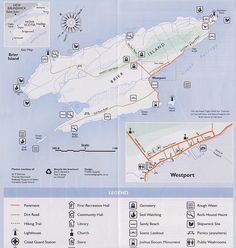 Map of Brier Island.