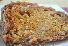 Crumble Top Zucchini Bread