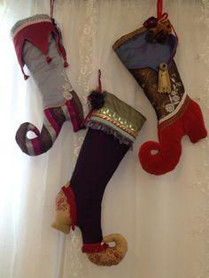 Gaynor Volpi - Decorative Christmas stockings