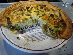 Asparagus and Leek Quiche l Sweet & Savory Kitchens