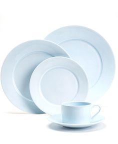 Martha Stewart Collection Dinnerware, Skylands Blue Collection