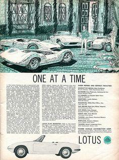 1965 Lotus Elan Roadster Advertisement Road & Track July 1965 | Flickr - Photo Sharing!