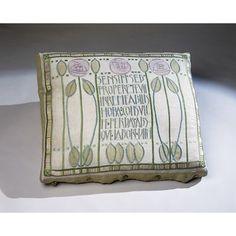 Cushion cover | Jessie Newbery, born 1864 - died 1948 (designer)