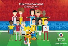 La Copa América ya sabe cómo se llamará su mascota: Zincha