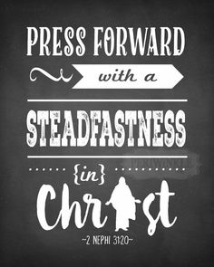 2016 LDS Mutual Theme-Press Forward with a by periwinkleinc