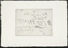 Cy Twombly D from Sketches
