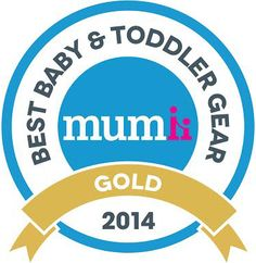 Best Baby and Toddler Gear award for the Shnuggle bath