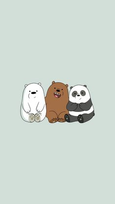 Black Wallpaper Cartoon we bare bears wallpaper