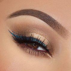 Eye Makeup Tips – How To Apply Eyeliner – Makeup Design Ideas Pretty Makeup, Love Makeup, Simple Makeup, Makeup Inspo, Makeup Inspiration, Hair Makeup, Bold Eye Makeup, Makeup Ideas, Style Inspiration