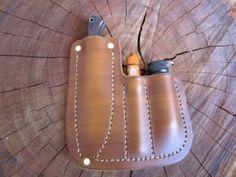 Custom BRK Little creek pocket sheath - Jackson LeatherWork, LLC