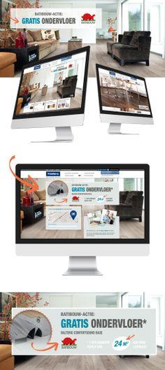 Mental Squint verzorgt het online gedeelte van de Balterio Batibouw actie. Meer info: www.balterio.be