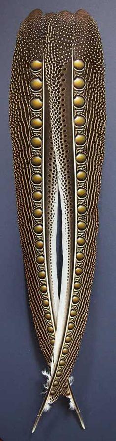 (via Argus Pheasant Feathers | nature's organic textures | Pinterest)