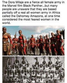 These are the real Amazons! So, when you see movies like wonder women. It's based off of this tribe of women.  The real amazon