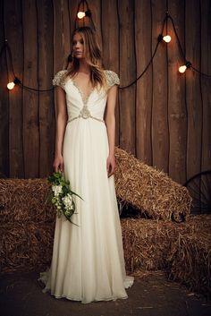 """Embellished Jenny Packham Wedding Dress """"Sheba"""""""