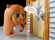 Knock Knock!  #nendoroid #umaru #zelda #windwaker #goodsmilecompany #goodsmile #otaku #nintendo #toystagram #toyphotography #toys by betzaidae