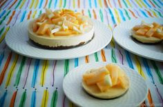 KNUSPERKABINETT: Melon-Lemon-Cheesecake (raw, glutenfrei und vegan)...