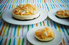 KNUSPERKABINETT: Melon-Lemon-Cheesecake (raw, glutenfrei und vegan)...