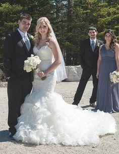 Sleeveless Beaded Wedding Dresses From The Darius Collection - Custom Wedding Dress Designers