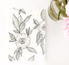ORIGINAL micron pen illustration with pastel watercolor details. -A cute and small way to fill the empty space on your wall, add a frame onto a desk, or even a gift for a loved one for a birthday or shower! Create a wall collage with a variety of these prints. Looks amazing in a frame or even by just adding some washi tape!  Size: 6 1/4 x 9 Paper: Off-white Watercolor Cardstock  -All art is sold as is; no matting or framing. -Original means that this is not digitally printed. Due to…