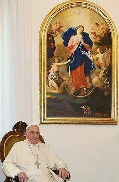 La virgen desatanudos es una devoción popular, sobre todo en Argentina.
