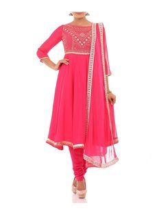 By far the most Indian ensemble around, the Anarkali is the most loved Indian outfit by women. We are sharing with you some very pretty Anarkali outfits that we saw last year.  Preeti Poojahttp://thatlook.in