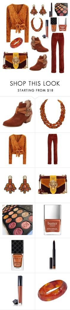 Untitled #787 by siriusfunbysheila1954 on Polyvore featuring WithChic, Miu Miu, Firth, Prada, Chanel, Lizzie Fortunato, By Terry, Estée Lauder and Gucci