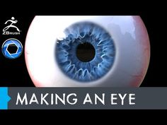 Making an Eye in Zbrush and Rendering - YouTube