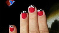 Cruella Deville nails