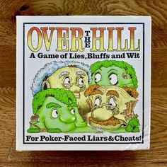 Over The Hill Game of Lies Bluffs and Wit for Poker Faced Liars & Cheats 100 for sale online Poker Face, Over The Hill, Game Sales, Family Games, Cheating, Friends, Amp, Party, Amigos