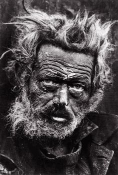 One of favourite McCullin Photos he looks like he has had a very hard life. makes me sad.