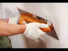 dica de como aplicar massa corrida na parede de forma correta - YouTube
