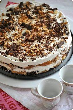 Κοινοποιήστε στο Facebook Υλικά 1,5 πακέτο μπισκότα σαβουαγιάρ 500ml γάλα φρέσκο 4 κουταλιές σούπας κακάο 4 κουταλιές σούπας ζάχαρη 2 συσκευασίες Morfat Creamy ή 500 ml. KRE TORRE ή απλά 500ml. κρέμα γάλατος με 35% λιπαρά 4 κουταλιές σούπας άχνη...