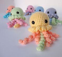 Amigurumi JellyfishLight by SomeThingsofString on Etsy, $15.00