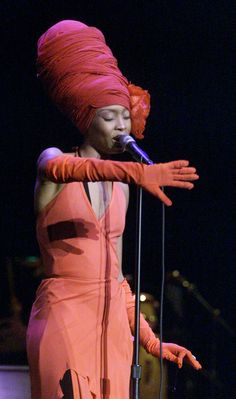 Erykah Badu Style Evolution: From Towering Head Wraps To Crazy Top Hats (PHOTOS)